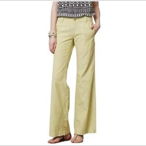 Anthro Pilcro and the Letterpress Linen Pants